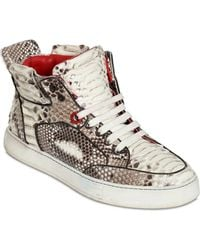 Royaums Limited Edition Python High Top Sneakers - Lyst