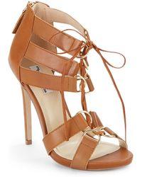 The Blonde Salad x Steve Madden Monaco High-Heel Sandals - Lyst