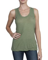 V :: Room High Soft Tank Top - Lyst