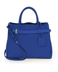 Reed Krakoff Rk40 Milled-Leather Satchel - Lyst