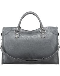 Balenciaga Giant 12 Nickel City Bag Gris Tarmac - Lyst