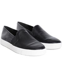 Vince Blair Leather Slipon Sneaker - Lyst