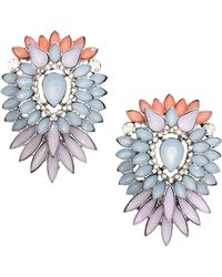 H&M Large Sparkly Earrings - Lyst