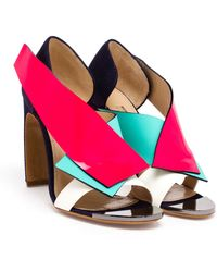 Roksanda Multi-Coloured Open Toe Sandals - Lyst