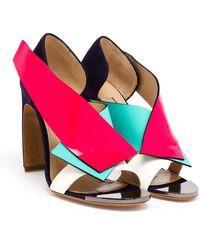 Nicholas Kirkwood Multi-Coloured Open Toe Sandals - Lyst
