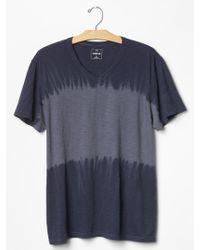 Gap Lived-In Dip-Dye T-Shirt - Lyst