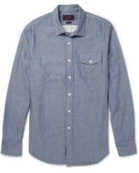 Grayers Cotton Oxford Shirt - Lyst