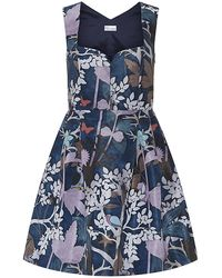 RED Valentino Forest Jacquard Dress - Lyst