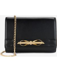 Ted Baker Patent Leather Cross Body Bag - Lyst