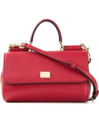 Dolce & Gabbana Miss Sicily Small Shoulder Bag - Lyst