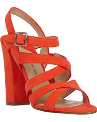 Paul Andrew Crisscross-strap Lotus Sandals - Lyst