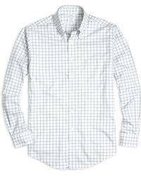 Brooks Brothers Non-Iron Regent Fit Tattersall Sport Shirt - Lyst