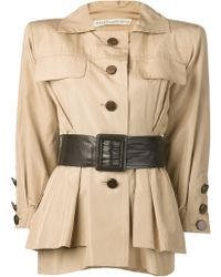 Yves Saint Laurent Vintage Safari Jacket - Lyst