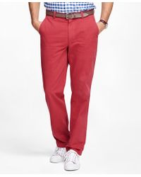 Brooks Brothers   Clark Fit Garment-dyed Chinos   Lyst