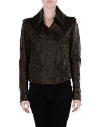 Donna Karan New York Jacket brown - Lyst