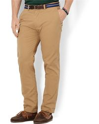 Polo Ralph Lauren Classic Fit Stretch Chino Pants - Lyst