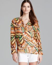 Two By Vince Camuto - Long Sleeves Butterfly Wings Shirt - Lyst