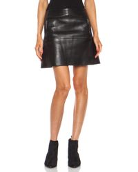 Acne Studios Captation Scuba Skirt - Lyst