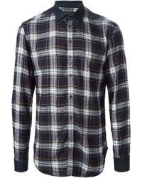 Diesel Blue S-kinops-k Shirt - Lyst