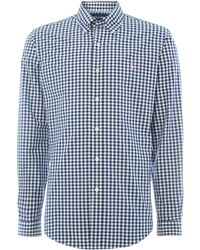 Polo Ralph Lauren Golf Custom Fit Long Sleeve Large Gingham Shirt - Lyst
