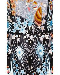 Naeem Khan - Star Embroidered Halter Neck Romper - Lyst