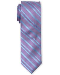 English Laundry - Lilac & Blue Striped Tie - Lyst