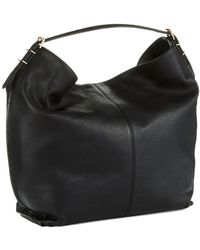 Isaac Mizrahi New York Oversized Leather Hobo Bag - Lyst