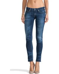 Citizens of Humanity Racer Lowrise Skinny - Lyst
