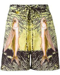 La Perla - Fish Print Swim Shorts - Lyst