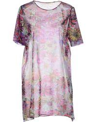 Osklen Short Dress - Lyst