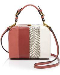 Tory Burch Mini Bag - Frame Cherry red - Lyst
