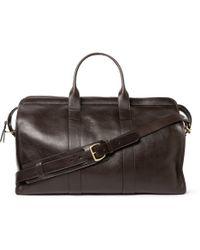 Lotuff Leather - Full-Grain Leather Holdall - Lyst