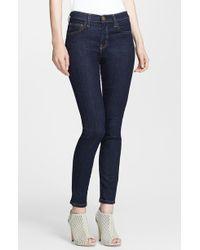Current/Elliott Women'S High Waist Skinny Ankle Jeans - Lyst