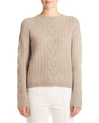 The Row Felicity Cable-Knit Sweater - Lyst