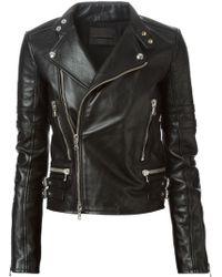 Diesel Black Gold Lorip Biker Jacket - Lyst