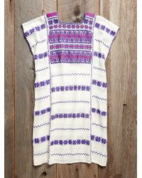 Free People Vintage Oaxacan Embroidered Dress - Lyst