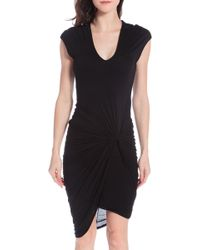 Helmut Lang Twist Dress - Lyst