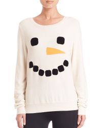 Wildfox | Frosty Face Sweatshirt | Lyst