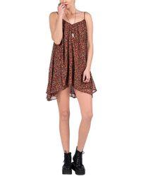 Volcom | Laying Low Chiffon Dress | Lyst