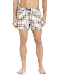 Aquascutum | Plaid Swim Trunks | Lyst