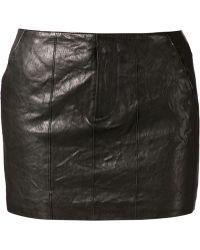 Nili Lotan Mini Skirt - Lyst