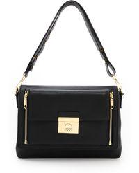 Milly Sienna 2 in 1 Messenger Bag - Black - Lyst