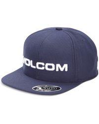 Volcom Idle Hands Snapback Hat - Lyst