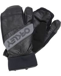 Oakley Factory Leather & Nylon Trigger Mittens - Lyst