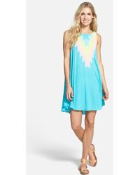 Wildfox 'Cassidy Sea' Sleeveless Dress - Lyst