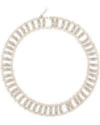 Balenciaga Chain Bubble Track Necklace - Lyst