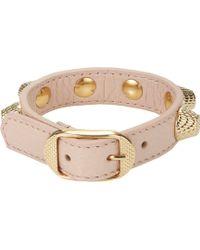 Balenciaga Studded Arena Giant Bracelet - Lyst