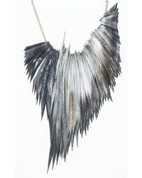 Ware Palm Necklace - Lyst