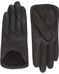 Rag & Bone Lambskin Moto Gloves - Lyst