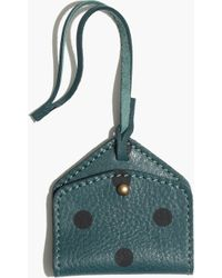 Madewell - Luggage Tag in Dot - Lyst